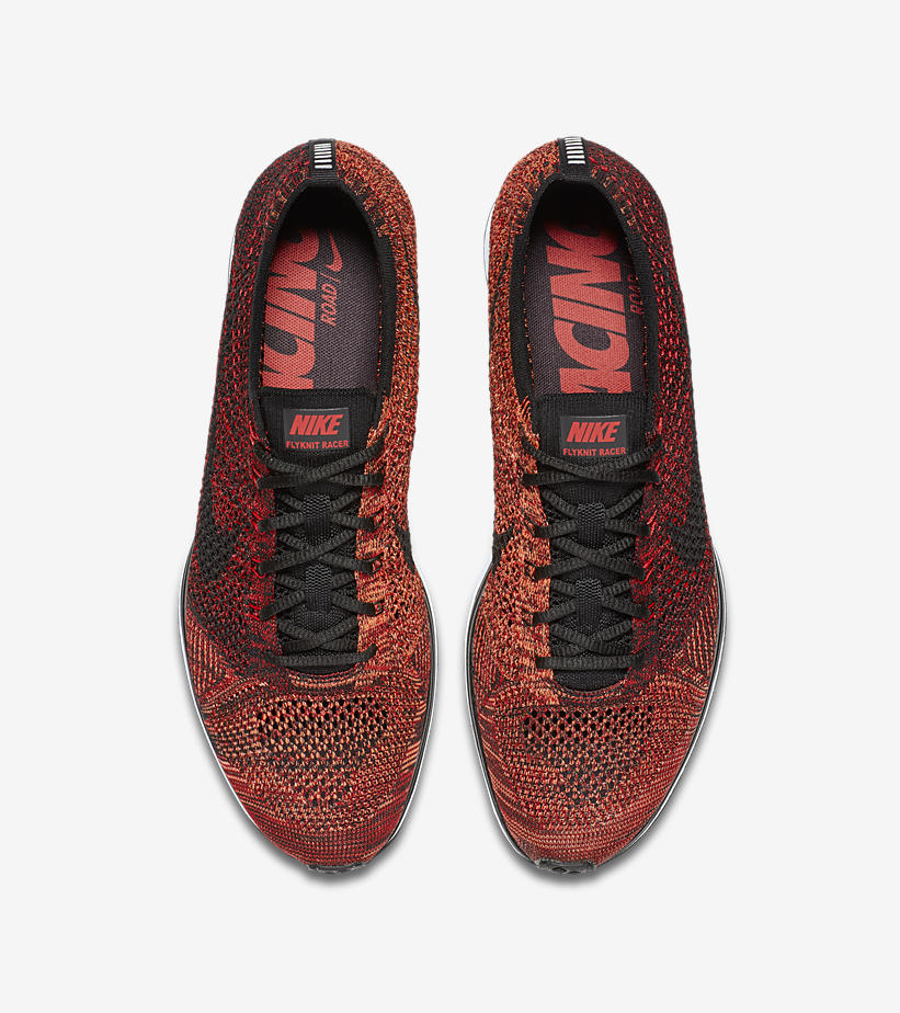 Nike Flyknit Racer University Red 526628 608 2
