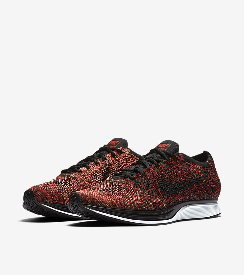 Nike Flyknit Racer University Red 526628 608 4