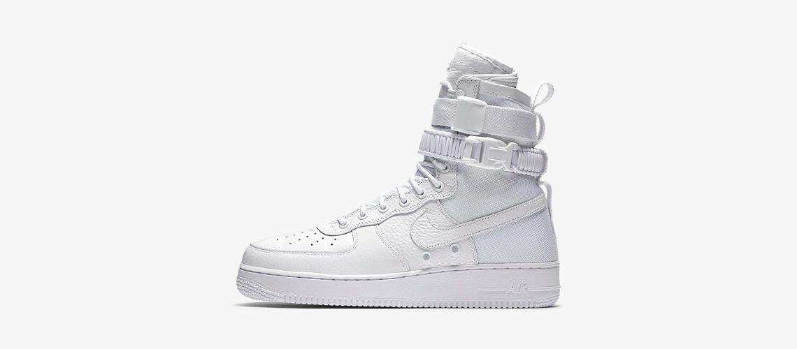 Nike SF Air Force 1 Triple White