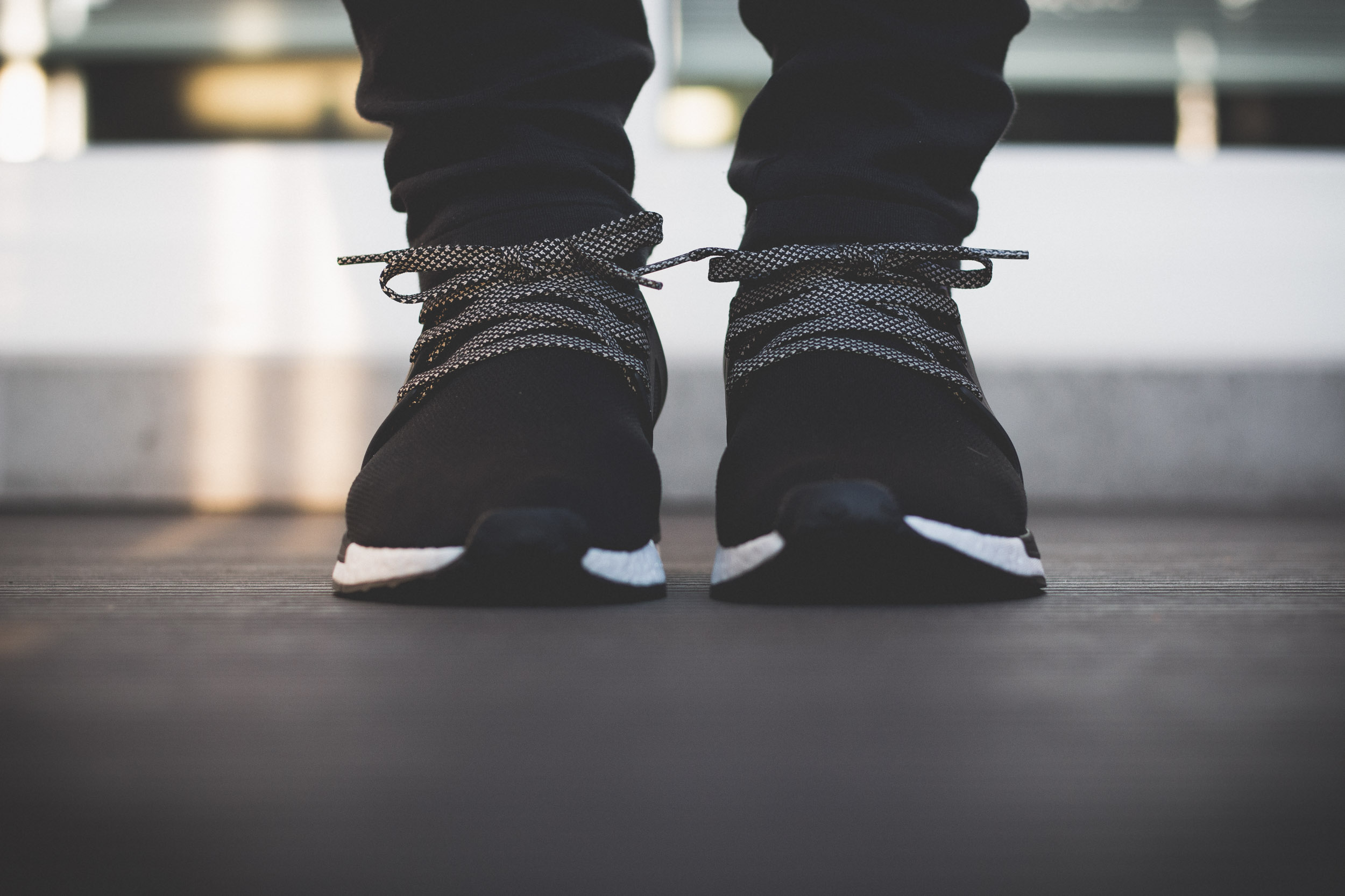 Adidas Nmd Xr1 Black On Feet