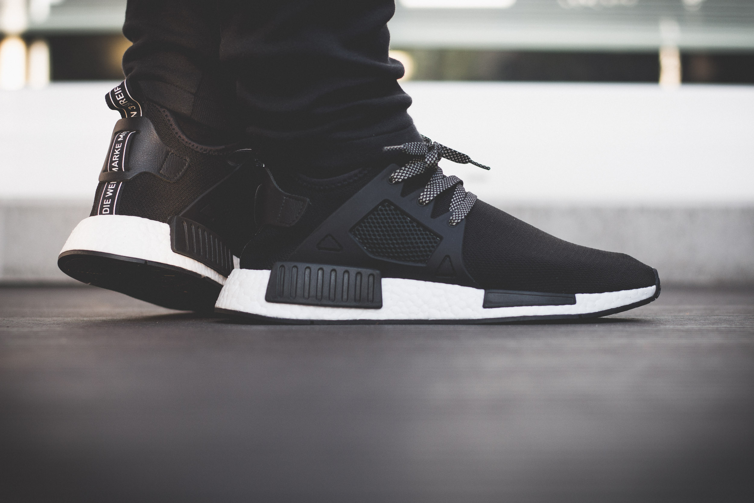 premium selection 410f1 e32ad ᐅ adidas NMD XR1 – Black / White On Feet | #SNKR◁