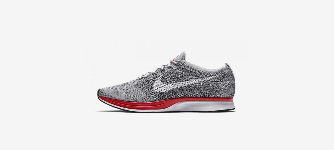Nike Flyknit Racer Wolf Grey Red 526628 013 1110x500