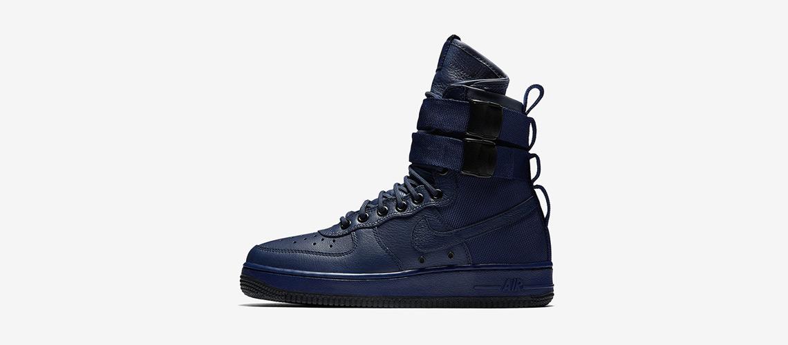 Nike SF Air Force 1 Binary Blue 857872 400