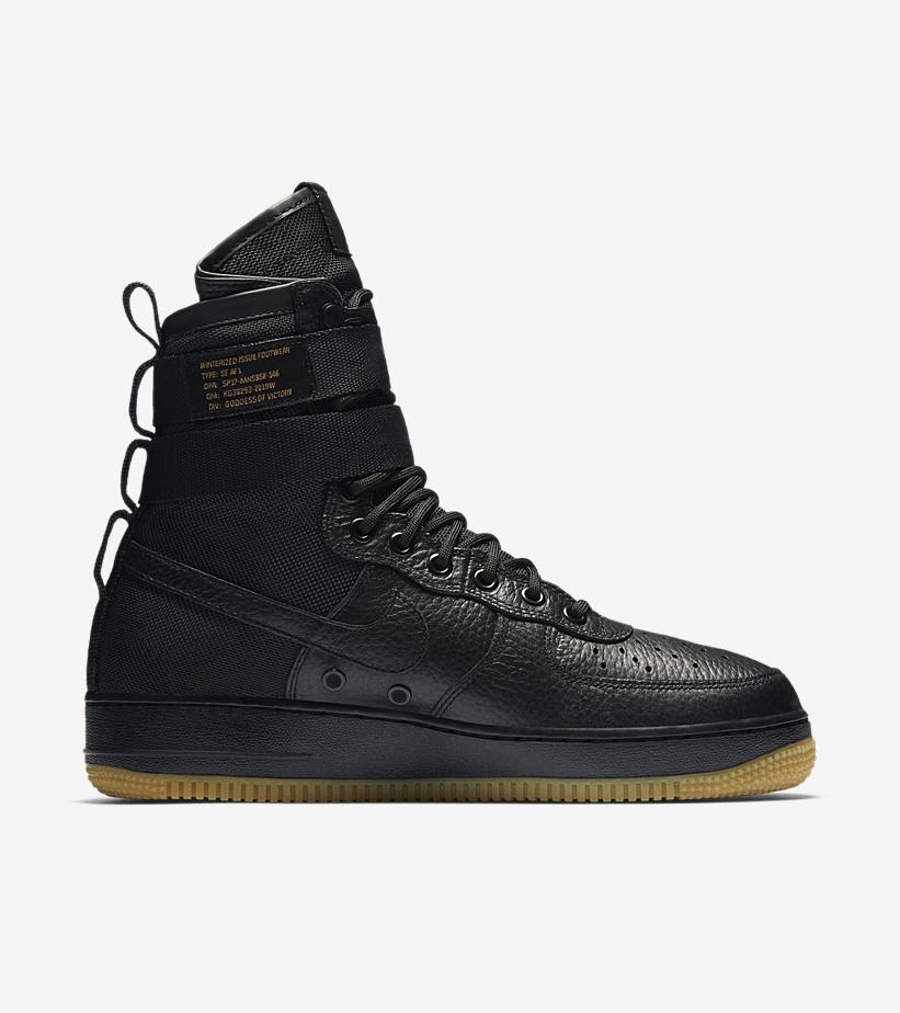 Nike SF Air Force Black Gum 864024 001 4