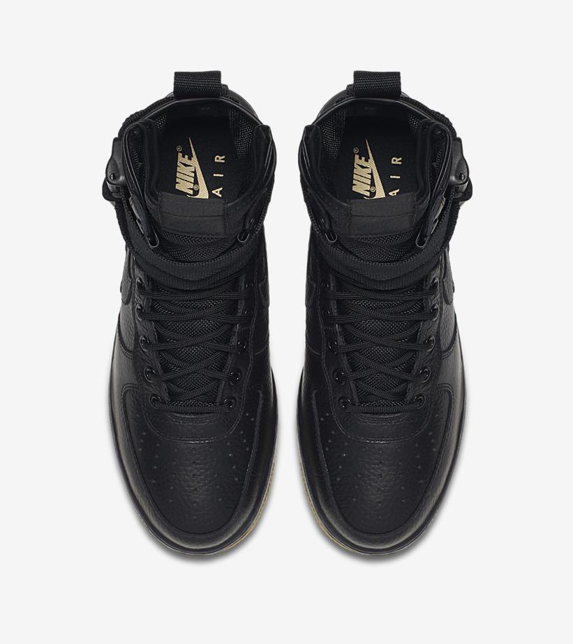 Nike SF Air Force Black Gum 864024 001 5