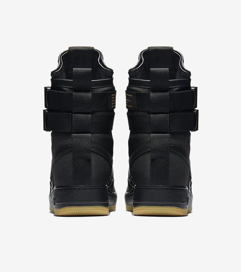 Nike SF Air Force Black Gum 864024 001 6