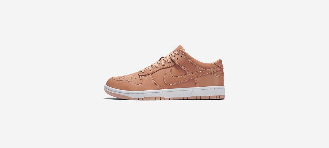 NikeLab Dunk Lux Low Vachetta Tan 857587 200 1110x500