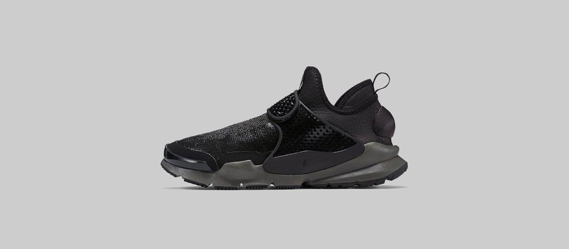 Stone Island x NikeLab Sock Dart MID Black 910090 001 1