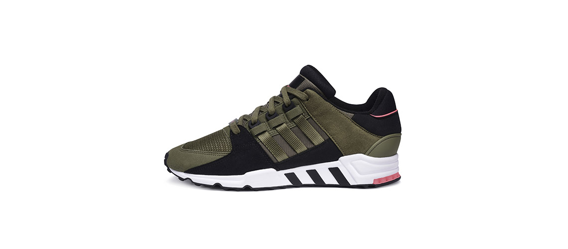 adidas EQT Support RF 91 17 Olive Cargo Black Turbo Red