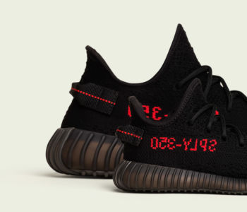 adidas Yeezy Boost 350 V2 Black Red CP9652 5 350x300