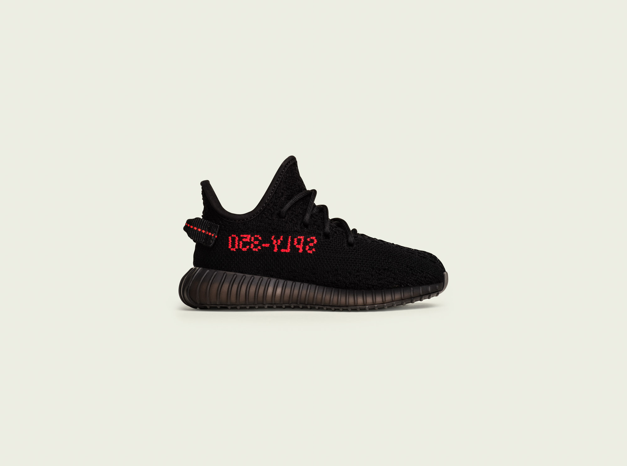 ADIDAS YEEZY BOOST 350 v2 CP 965 BRED BLACK / RED SIZE 5