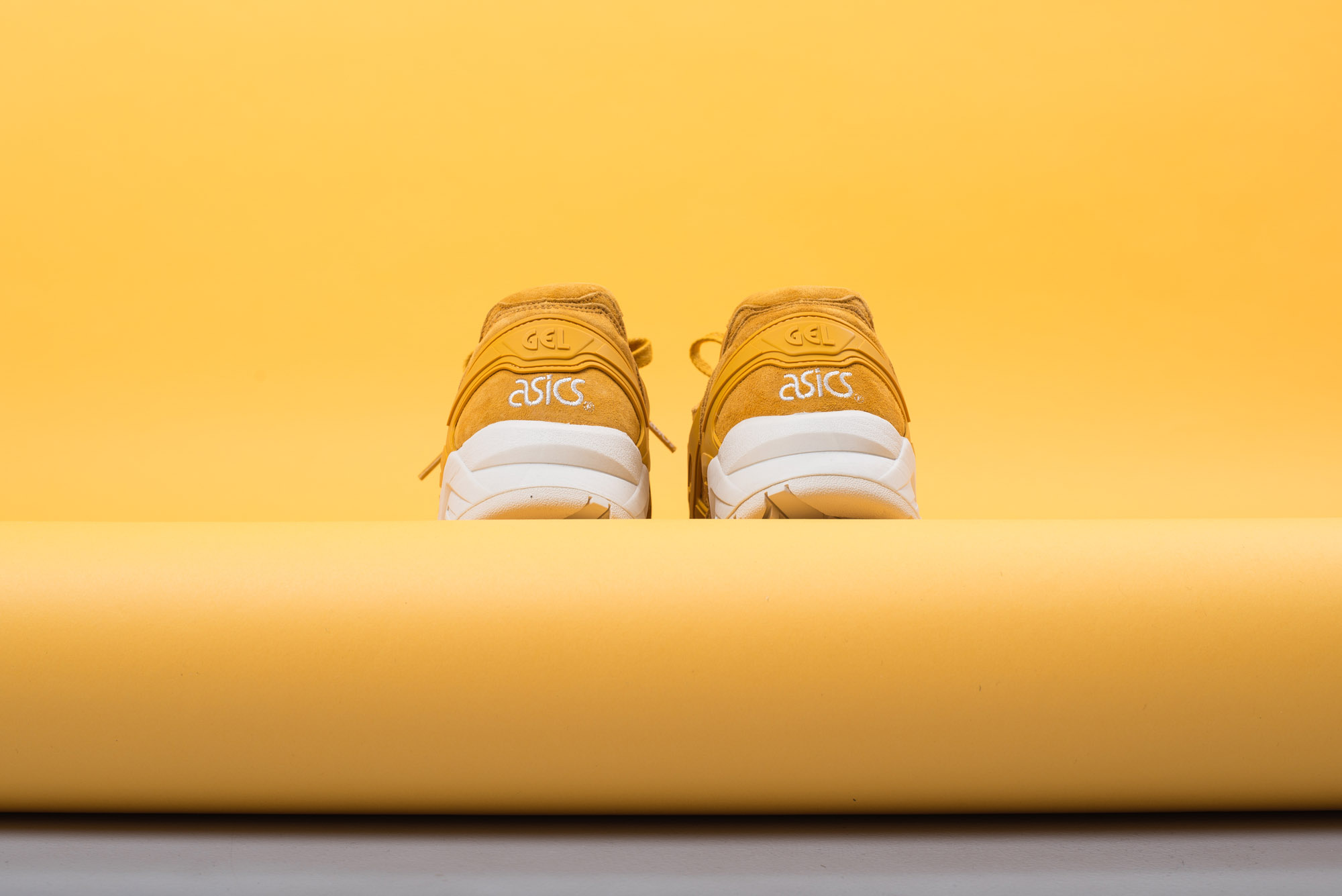 asics Tiger Gel Kayano Trainer Golden Yellow Agave Green 2