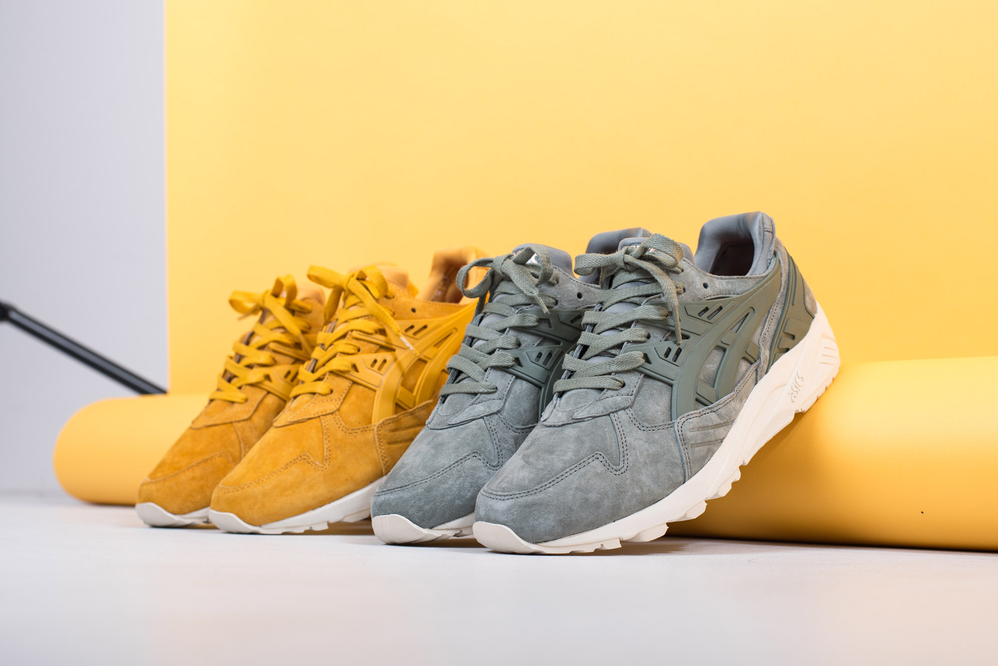 asics Tiger Gel Kayano Trainer Golden Yellow Agave Green 4