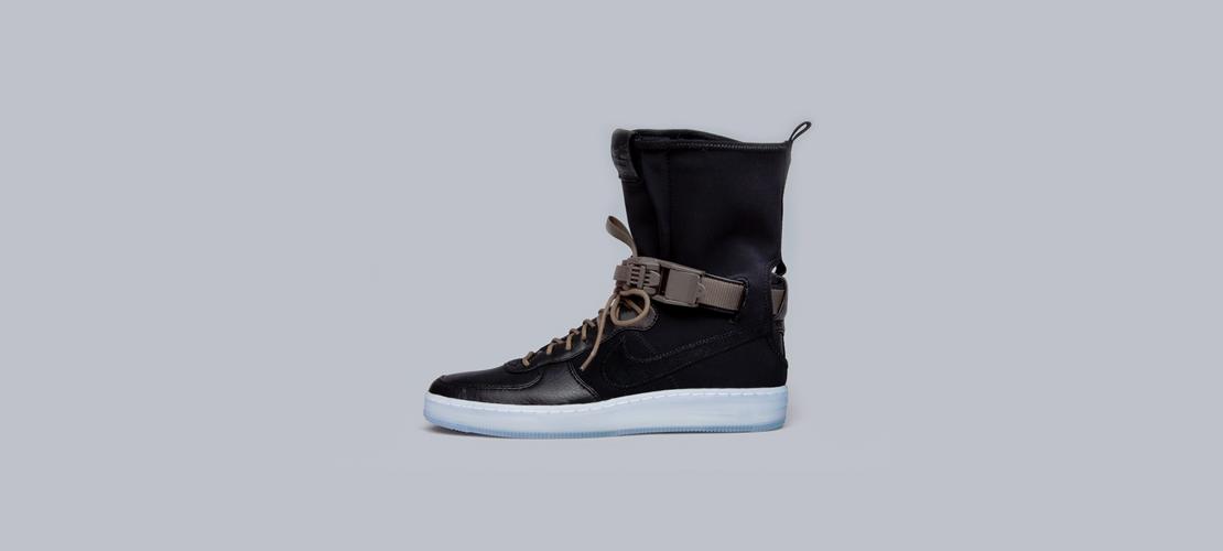 ACRONYM x Nike Air Force 1 Downtown HI Black 1 1110x500