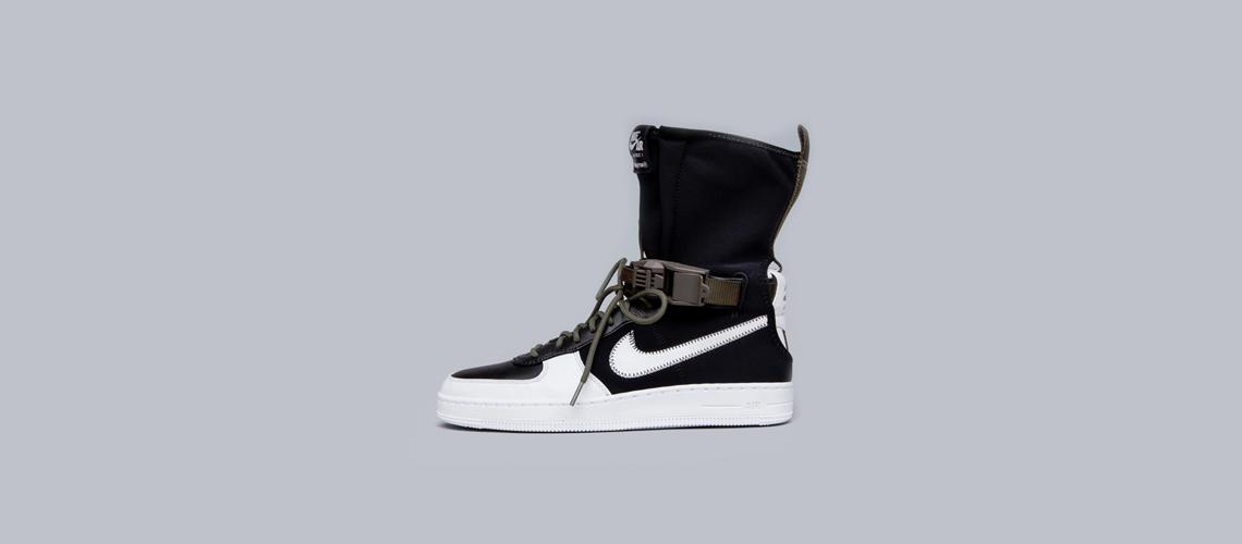 ACRONYM x Nike Air Force 1 Downtown HI Black White 649941 001 1