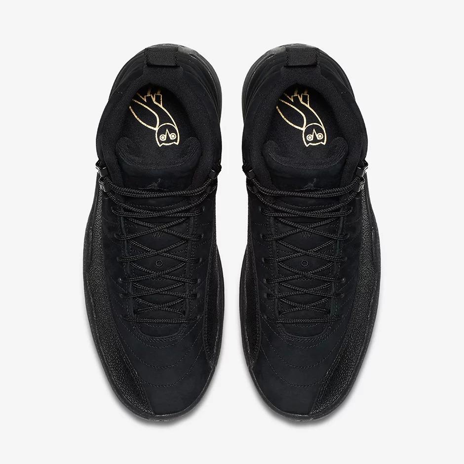 Air Jordan 12 OVO Black 873864 032 3