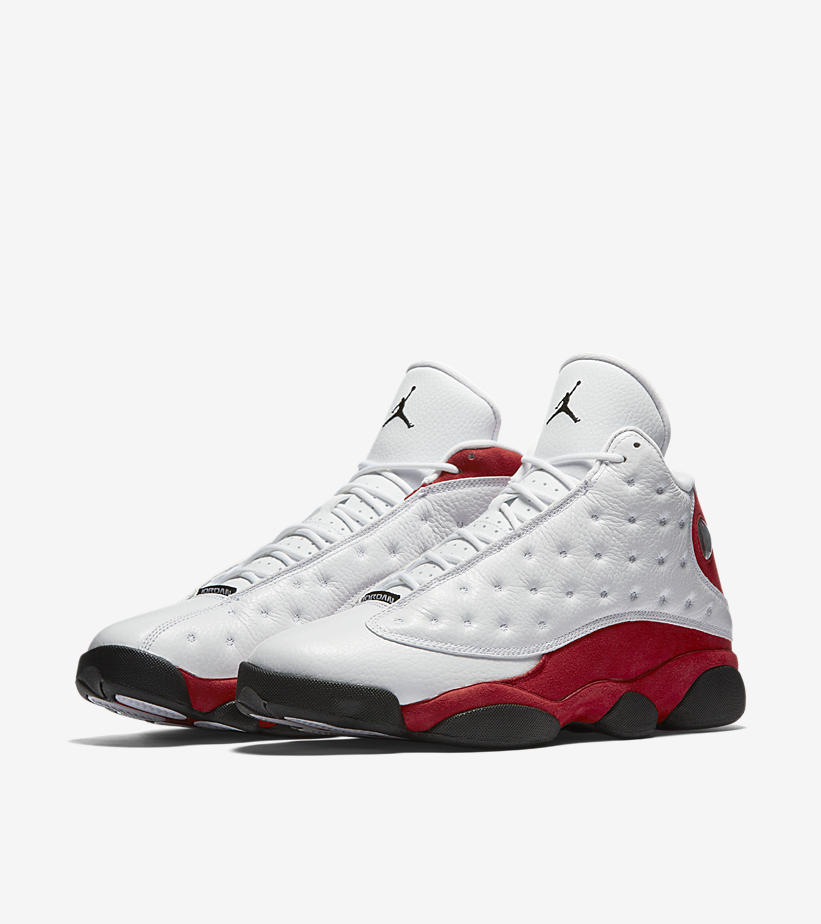 Air Jordan 13 Retro OG White Red 414571 122 1