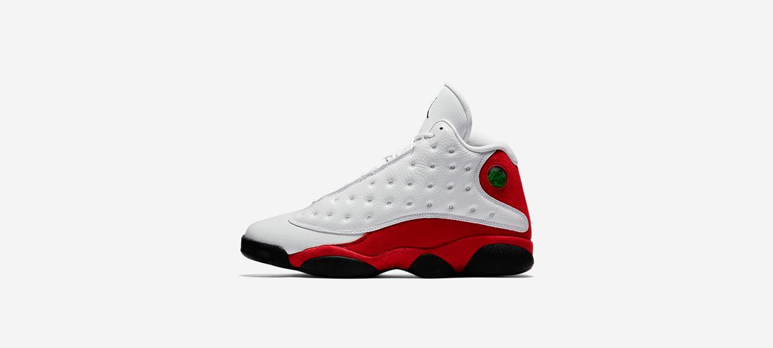 Air Jordan 13 Retro OG White Red 414571 122 1110x500