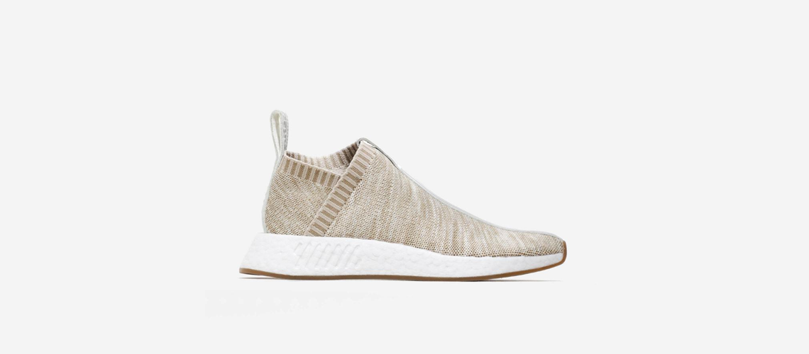 KITH x NAKED x adidas Consortium NMD CS2 BY2596 Sandstone