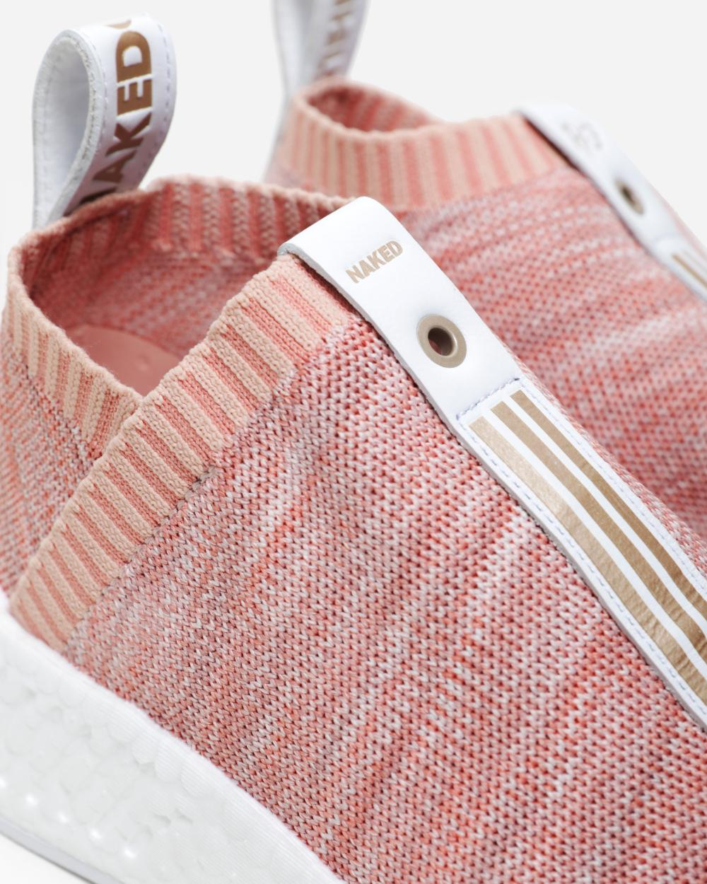 KITH x NAKED x adidas Consortium NMD CS2 BY2597 Pink 3