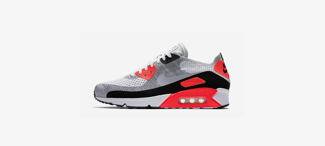 Nike Air Max 90 Ultra 2 0 Flyknit Infrared 1110x500