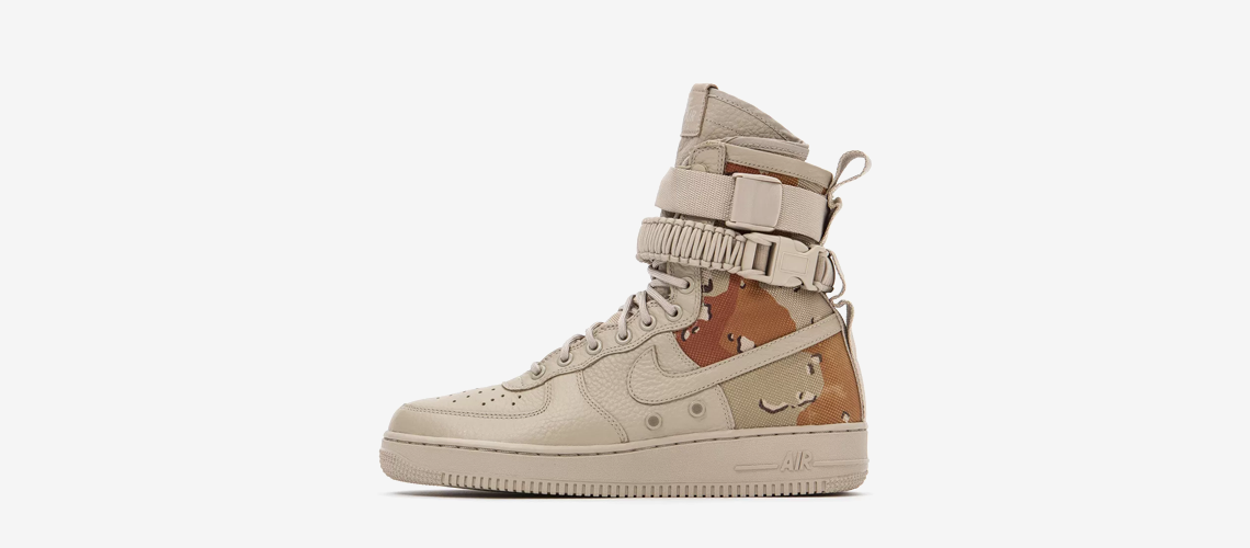 Nike SF Air Force Desert Camo