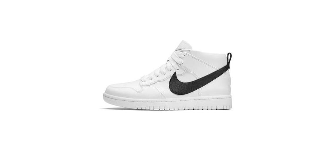 Riccardo Tisci x NikeLab Dunk Lux Chukka White Black
