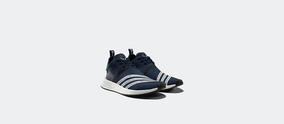 White Mountaineering x adidas NMD R2 Navy