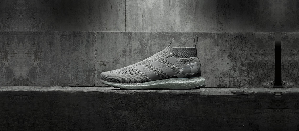 adidas ACE 16 Purecontrol Ultra Boost Clear Grey BY9089