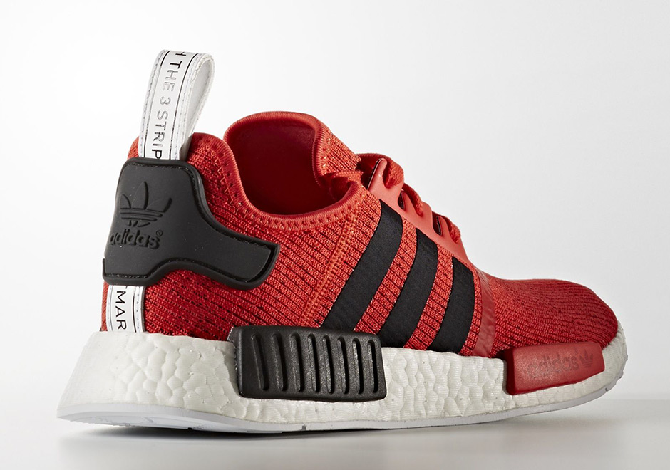 adidas NMD R1 Red Black 1