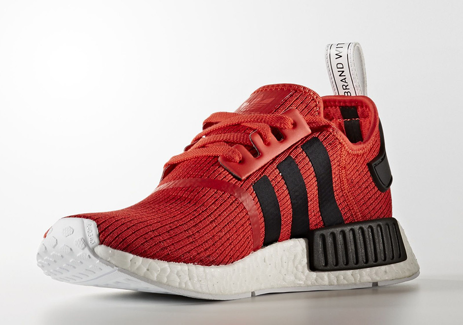 adidas NMD R1 Red Black 2