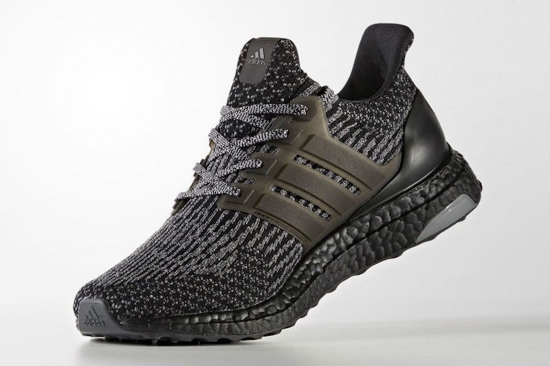 adidas Ultra Boost 3 0 Black Silver BA8923 1