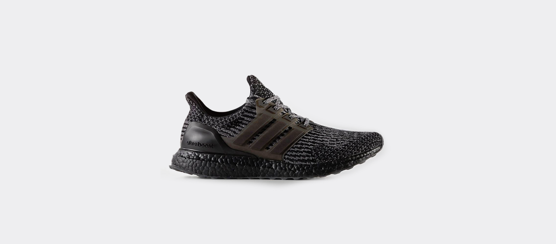 adidas Ultra Boost 3 0 Black Silver BA8923
