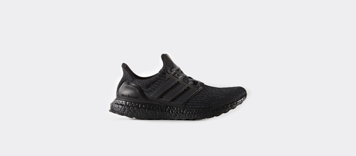 adidas Ultra Boost 3 0 Triple Black BA8920