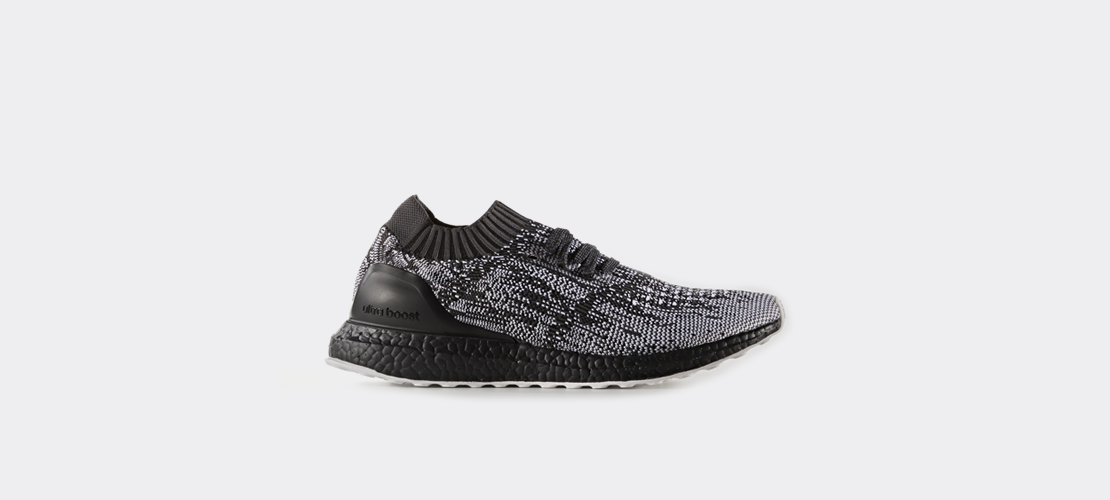 adidas Ultra Boost Uncaged Black Grey S80698 1110x500