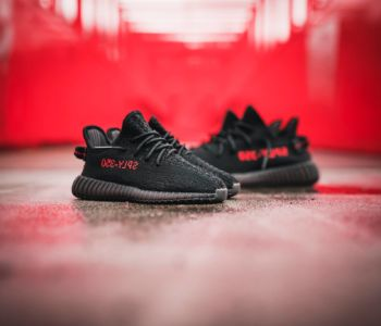adidas YEEZY BOOST 350 V2 Core Black Red CP9652 5 350x300