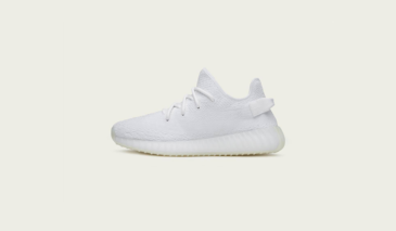 Half Sizes 'White / Red' yeezy boost 350 v2 cp 965 Youth