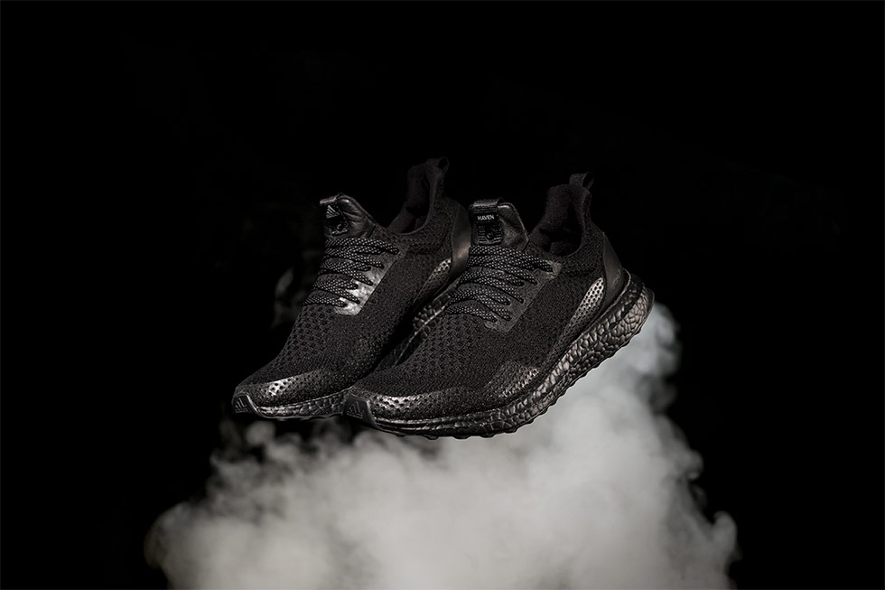 HAVEN x adidas Consortium Ultra Boost Triple Black BY2638 1