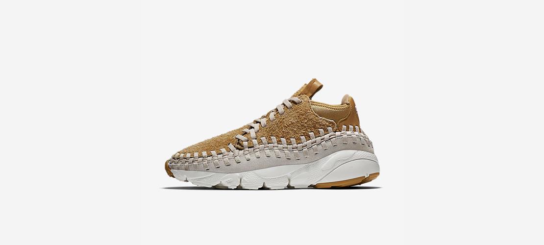 Nike Air Footscape Woven Chukka Flat Gold 913929 700 1110x500