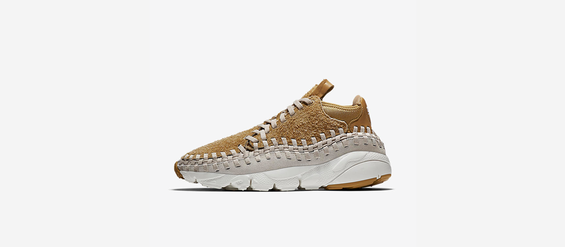 Nike Air Footscape Woven Chukka Flat Gold 913929 700
