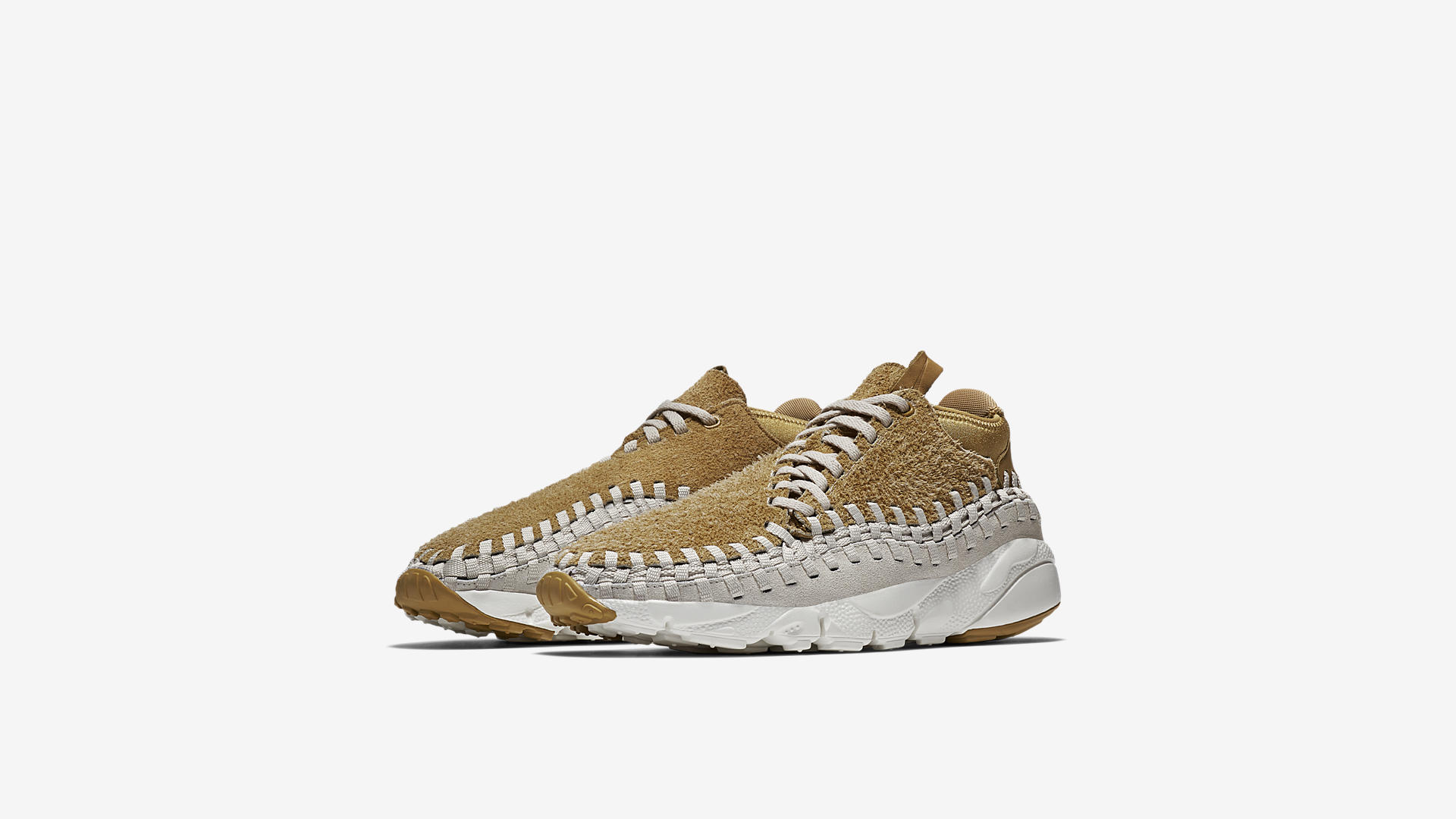Nike Air Footscape Woven Chukka Flat Gold 913929 700 1