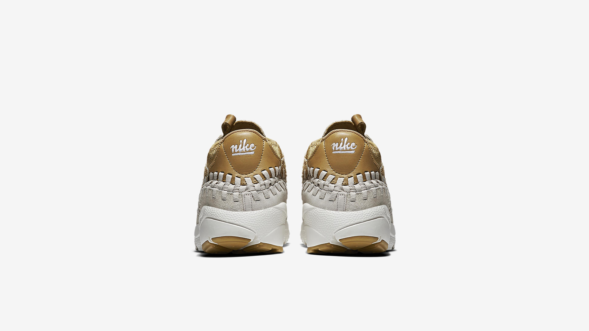 Nike Air Footscape Woven Chukka Flat Gold 913929 700 2