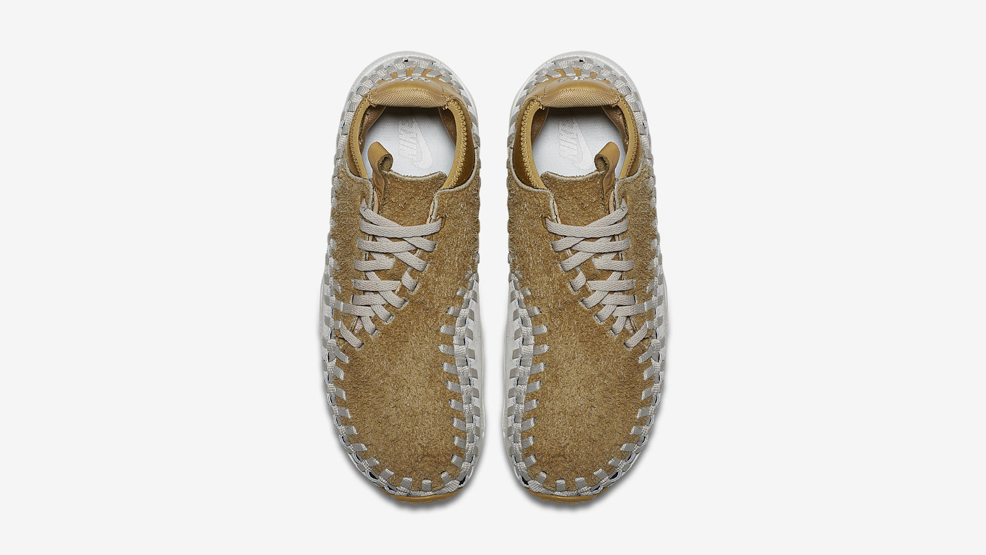 Nike Air Footscape Woven Chukka Flat Gold 913929 700 3