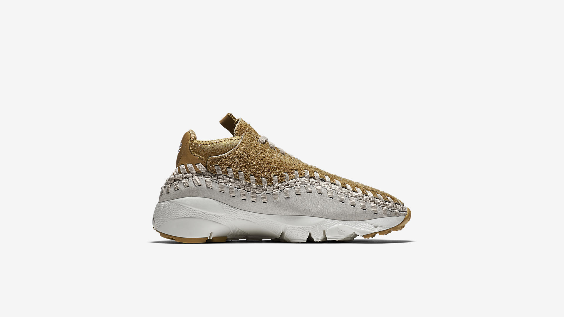 Nike Air Footscape Woven Chukka Flat Gold 913929 700 4