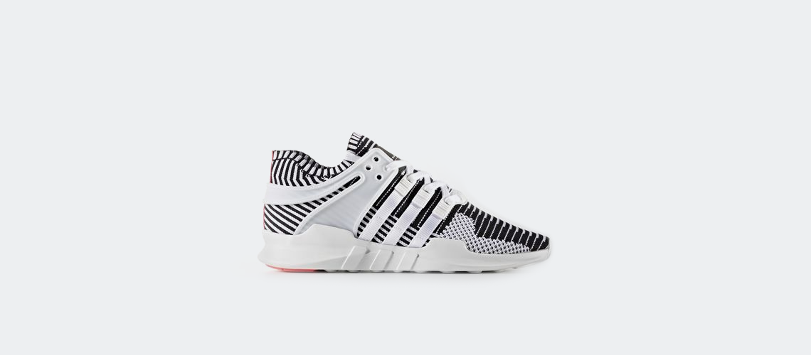 adidas EQT Support ADV Primeknit White Turbo Red BA7496