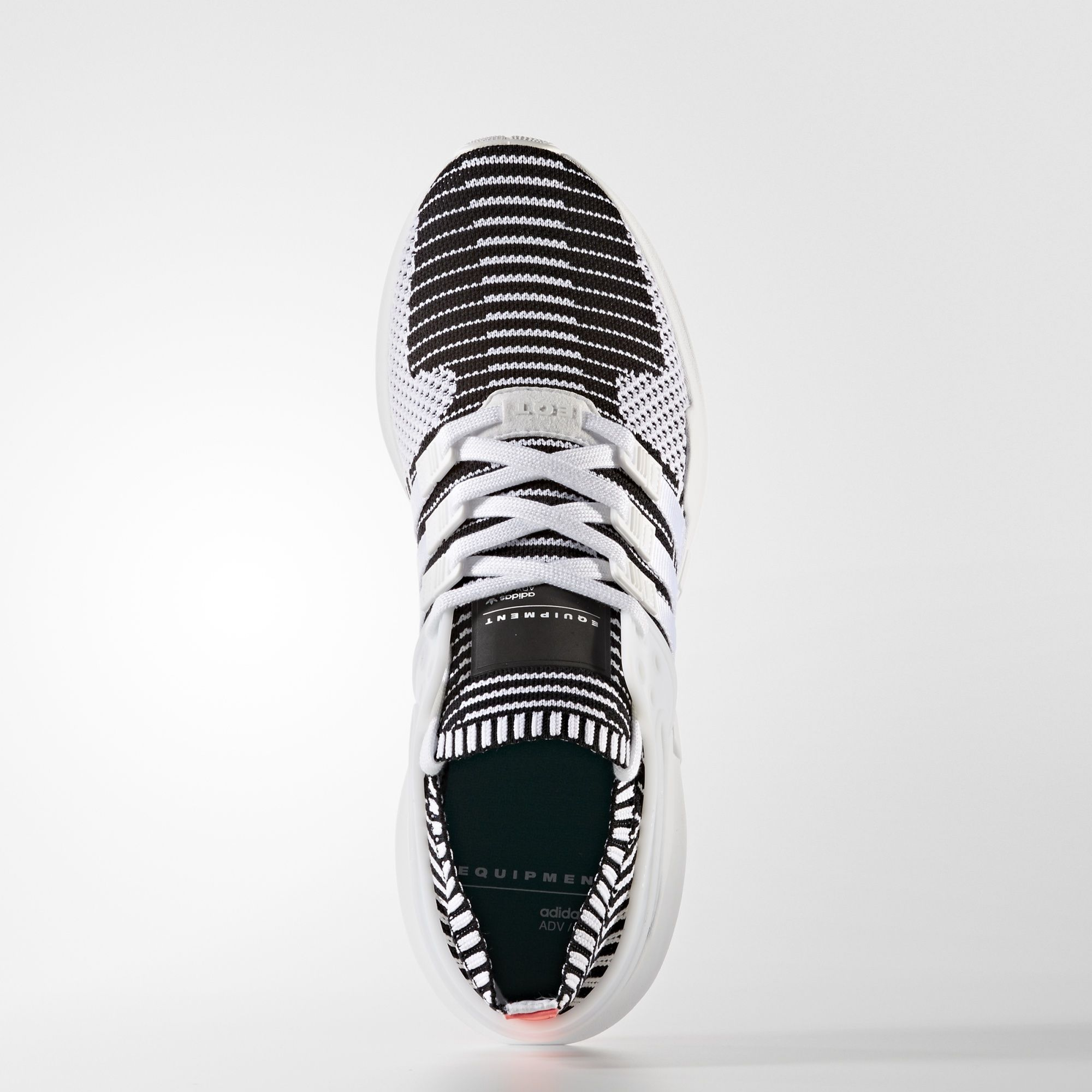 adidas EQT Support ADV Primeknit White Turbo Red BA7496 1