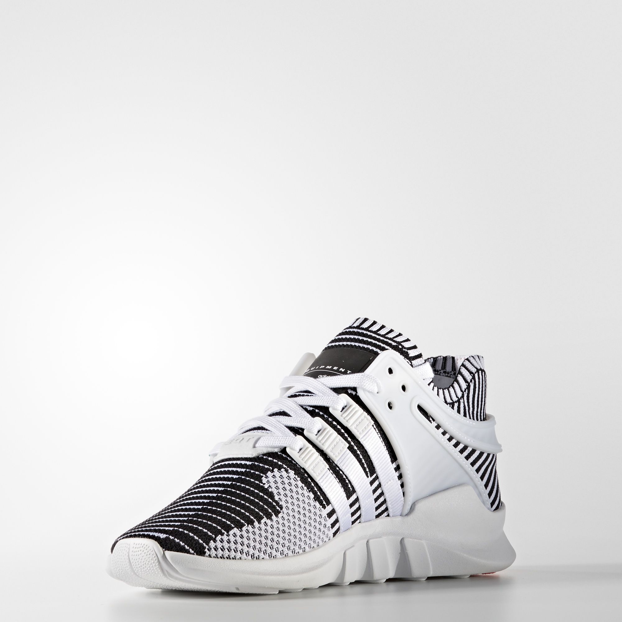 adidas EQT Support ADV Primeknit White Turbo Red BA7496 2