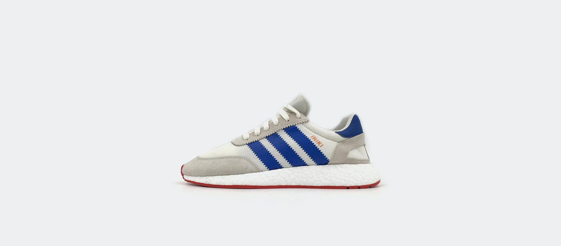 adidas Iniki Runner Offwhite Blue Red BB2093