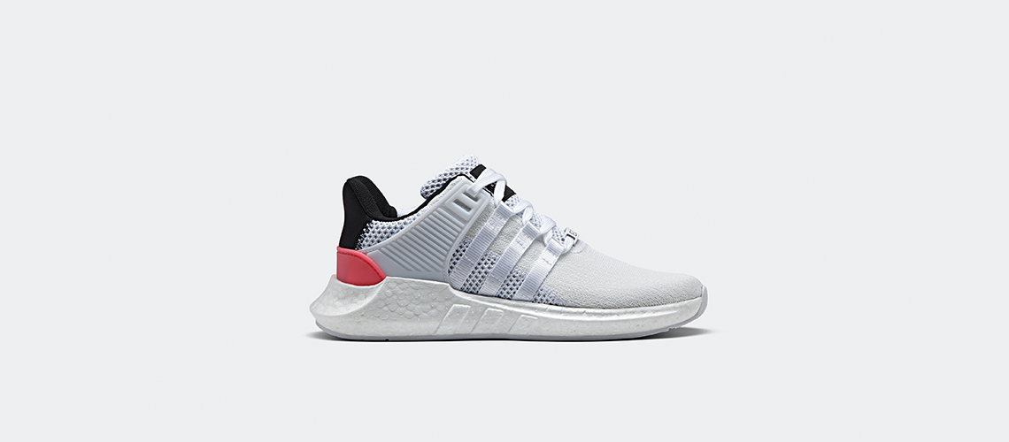 adidas Originals EQT Support 93 17 White Turbo Red
