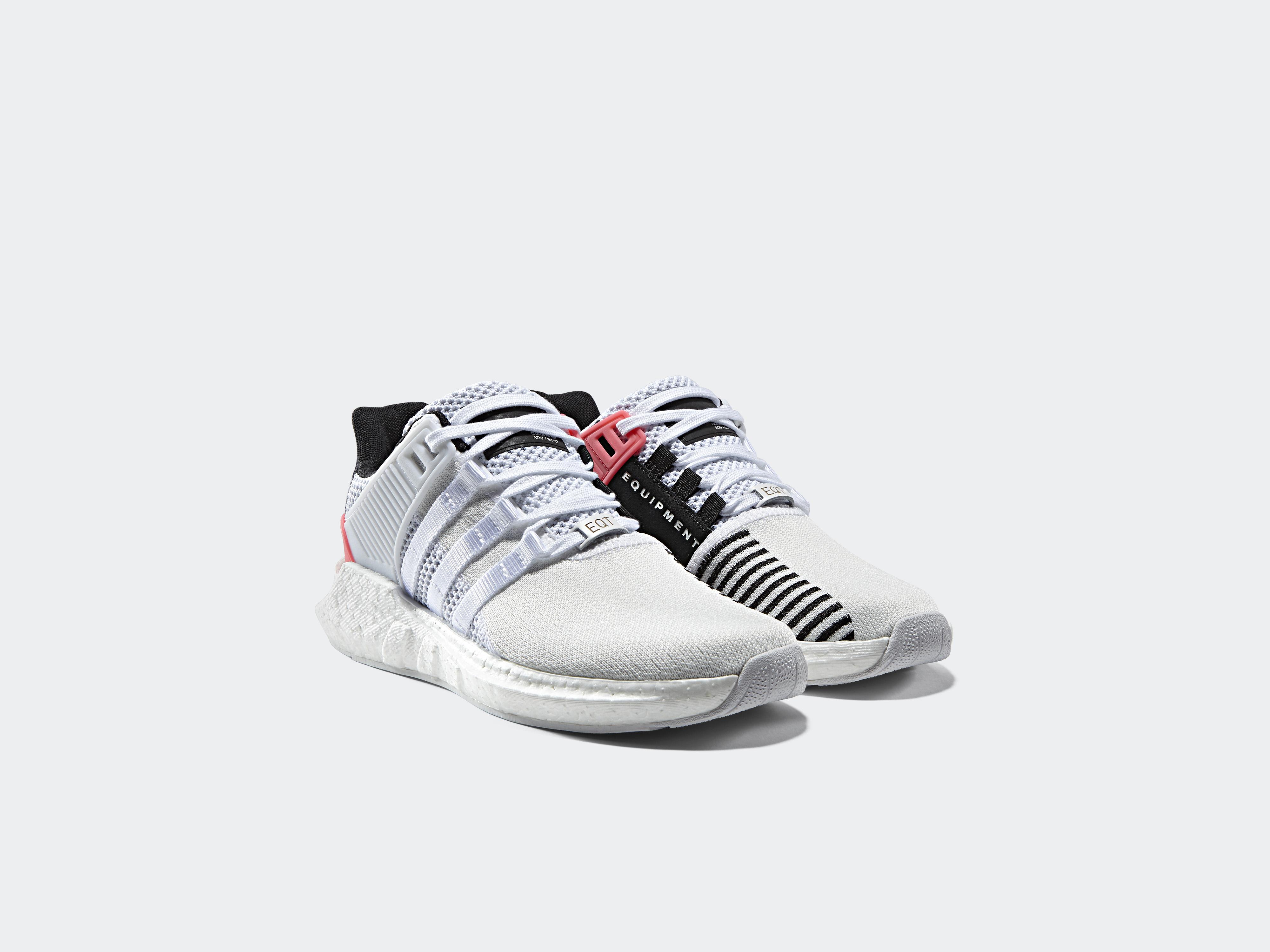 adidas Originals EQT Support 93 17 White Turbo Red 1